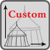 Customised medieval tent