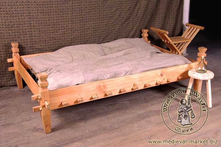 double bed with mattress rent clothing medieval