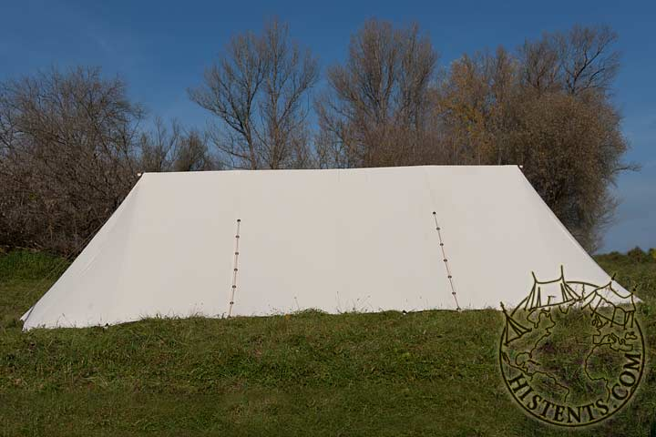 Category Rent u003e rent tents & Early long tent (9x35m) cotton - rent. - Clothing - Medieval ...