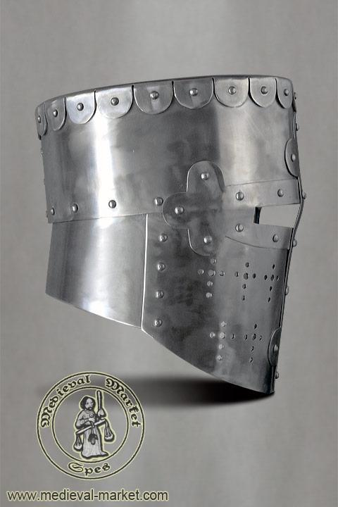 Great helm (spring steel)  MEDIEVAL MARKET - SPES