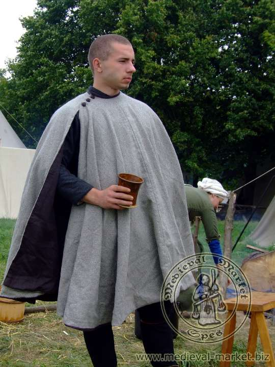 A short coat with the lining. - Clothing - Medieval Market - Spes.