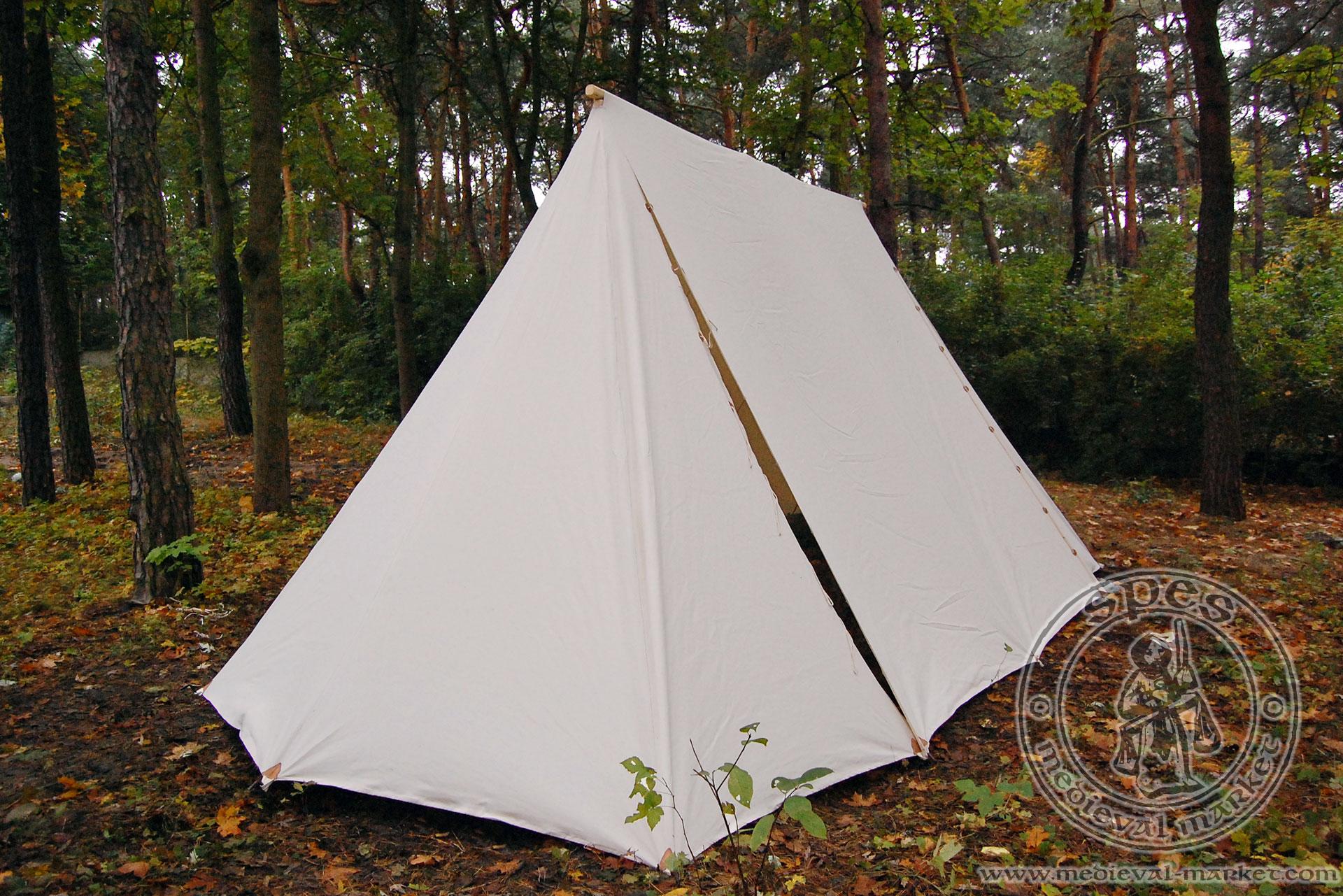 Norman tent - cotton - Medieval Market Norman tent & Norman tent - cotton. MEDIEVAL MARKET - SPES.