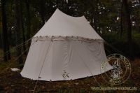 Cotton Medieval Tents - Medieval Market, 2poles pavilon type 2