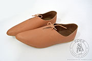 Medieval men's under-the-ankle shoes - stock - Medieval Market,