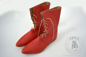 In stock - Medieval Market, High lace-up boots