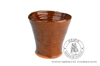 Kitchen accessories - Medieval Market, a glazed cup 0,25l