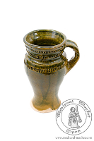 kitchen accessories - Medieval Market, a glazing cup 0,5l