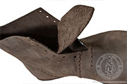Medieval townsman shoes - Medieval Market, Medieval leather townsman shoes