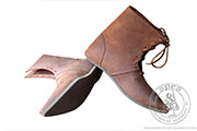 Medieval knight shoes - Medieval Market, Medieval leather knight shoes