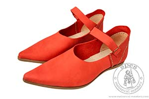 In stock - Medieval Market, Womens medieval shoes with buckles