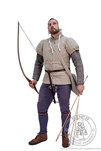Arming garments - Medieval Market, Archer in gambeson