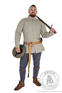 Arming Garments - Medieval Market, Men in medieval aketon