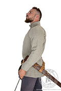 Catalan knight's gambeson - stock - Medieval Market, Side of medieval knight gambeson