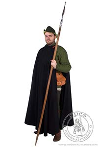 outer garments - Medieval Market, A coat made from three fourth of a circle with no