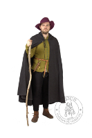 - Medieval Market, coat made from a semicircle