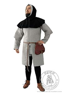 Arming garments - Medieval Market, Medieval gambeson with short sleeves