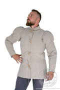 English archer gambeson - Medieval Market, It has straight stitchings on its whole surface, both torso and sleeves