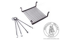 kitchen accessories - Medieval Market, Rectangular fire grate