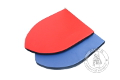 Foam heater shield - big - Medieval Market, foam big heater shield red blue