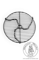 - Medieval Market, Round hanging grill