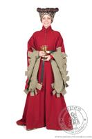 Lady's Houppelande type 2. Medieval Market, Lady\'s Houppelande 2 - medieval dress