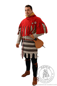 In stock - Medieval Market, Italian medieval gambeson is put on through the head