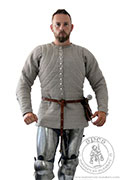 King Arthur's knight gambeson - Medieval Market, Man in knight gambeson