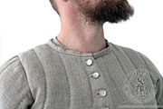 King Arthur's knight gambeson - Medieval Market, King Arthurs knight gambeson does not have a collar