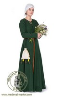 Medieval dress - cotte . Medieval Market, Ladys cotte type 1