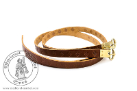 belts - Medieval Market, leather garters type 2