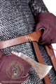 Chain mail with long sleeves (round rivets) - Medieval Market, Long chainmail