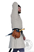Long medieval pourpoint - Medieval Market, This gambeson has a new sleeve pattern - so called inverted elbow