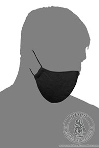 Miscellaneous - Medieval Market, Linen face mask - one color