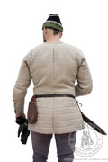 Medieval gambeson from Arnstadt - stock - Medieval Market, Back of linen aketon