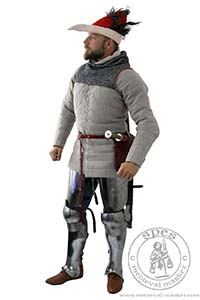 Arming garments - Medieval Market, Man in armor padding