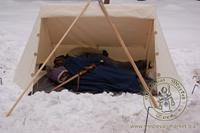 Cotton Medieval Tents - Medieval Market, mini soldier tent