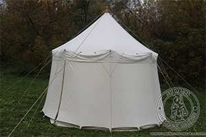 Cotton Medieval Tents - Medieval Market, \
