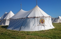 Tents rent - Medieval Market, Pavilion with two poles type 4.jpg