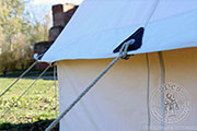 Period tent Bell - Medieval Market, The period tent also has anti-hurricane ropes of 150 cm length and 6 mm diameter