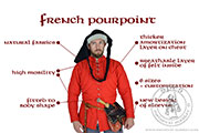 French pourpoint - Medieval Market, French poupoint