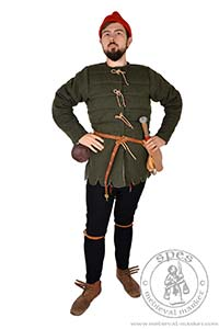under garments - Medieval Market, German woolen pourpoint. Medieval gambeson