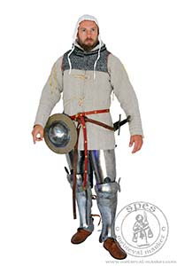 - Medieval Market, Front view of medieval gambeson for HMBIA