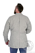 Purpoint without quilting - stock - Medieval Market, Back of medieval jacket for men