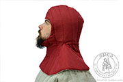 A quilted hood - Medieval Market, A quilted hood