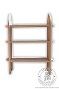 Wooden medieval bookcase - Medieval Market, Wooden medieval bookcase