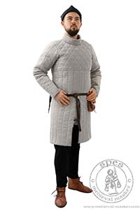 Arming Garments - Medieval Market, Medieval gambeson called aketon from Maciejowski Bible