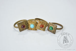 In stock - Medieval Market, ring type 3