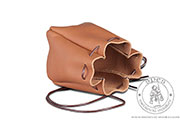 Small leather pouch - Medieval Market, Small leather pouch