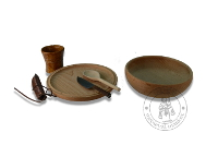 rent furniture and accessories - Medieval Market, set of dishes