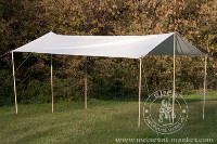 Cotton Medieval Tents - Medieval Market, shed 4,5x3m cotton
